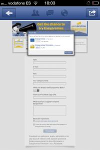 Cómo participa un usuario que no es fan de la página