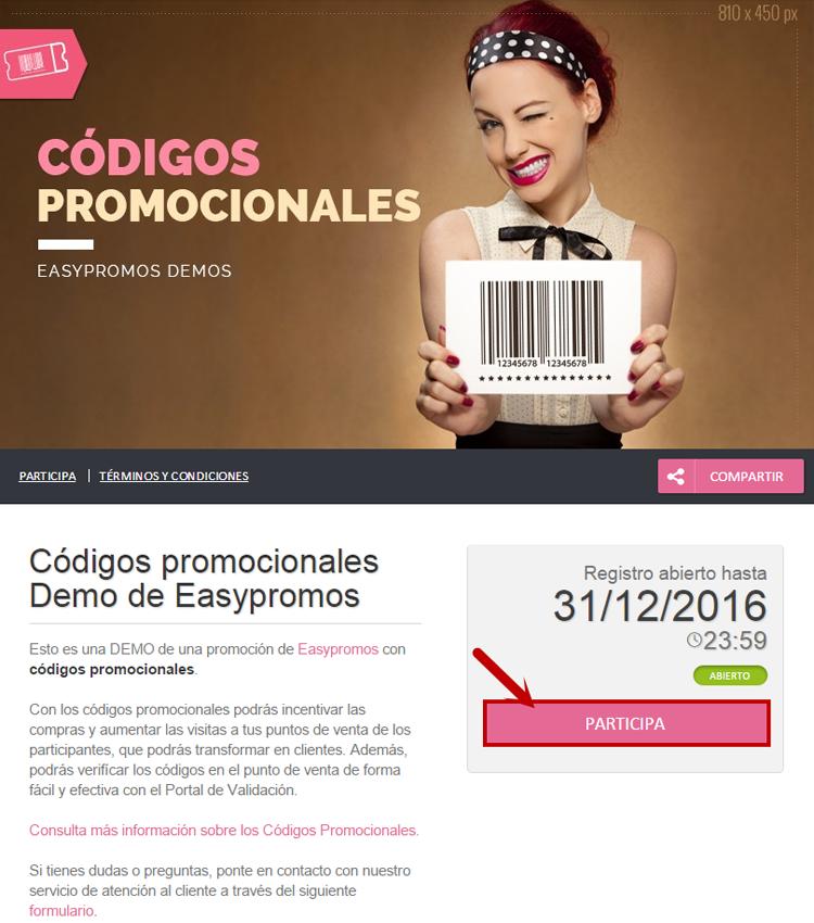 Cómo ofrecer códigos promocionales