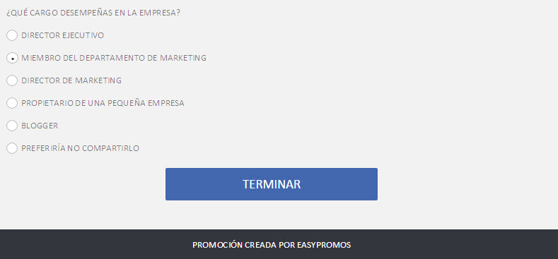 formulario de registro radio button