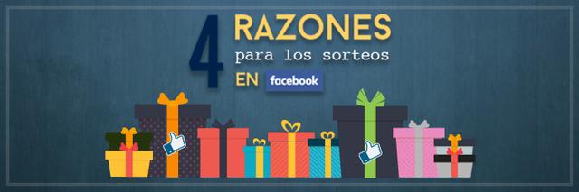 4 razones sorteos Facebook