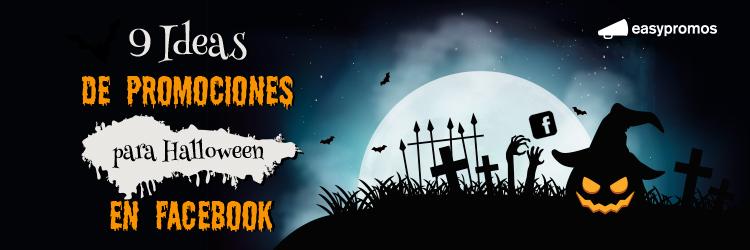 promociones para halloween en Facebook