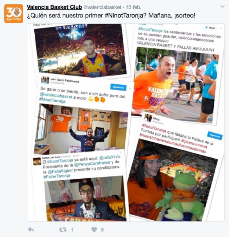 concurso hashtags en Twitter