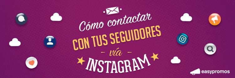 como contactar con tus seguidores via instagram