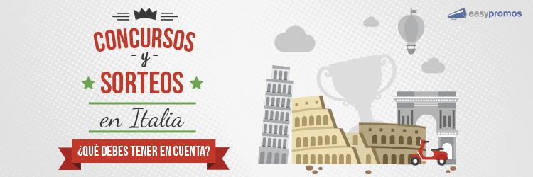 Cómo organizar concursos y Sorteos en Italia