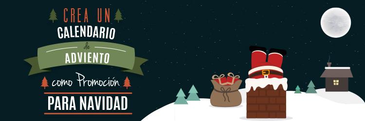 crea calendario adviento como promocion navidad