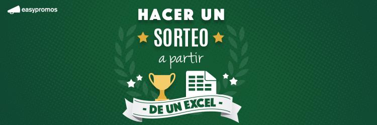 Hacer Un Sorteo A Partir De Un Excel