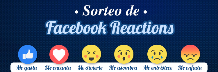 Sorteo Facebook Reactions