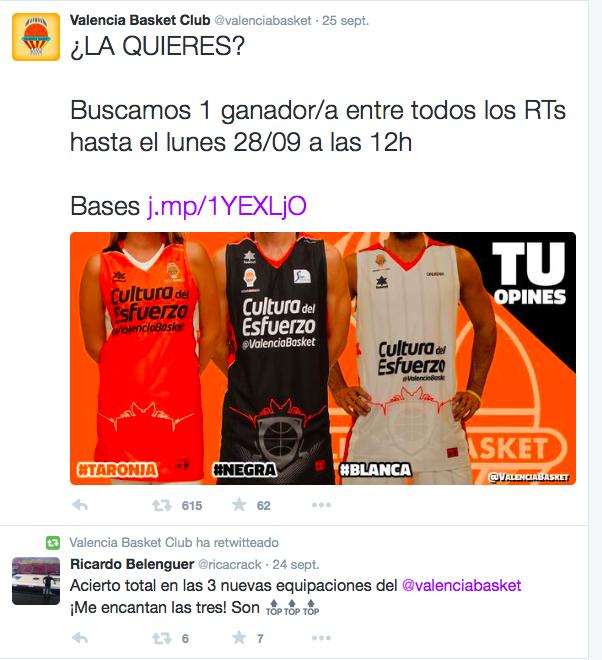 Twitter Valencia Basket