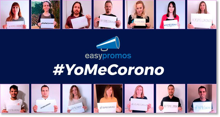 campaña #yomecorono Easypromos