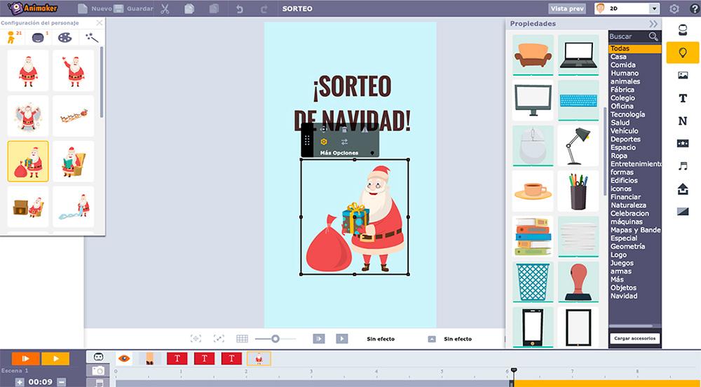 ejemplo herramienta para hacer videos Animaker