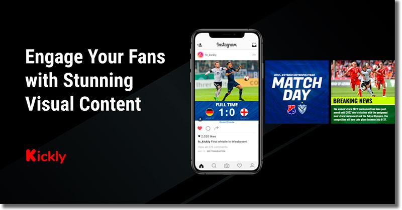 App para crear contenido visual: Kickly