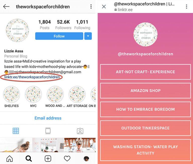 enlace bases legales en bio de Instagram