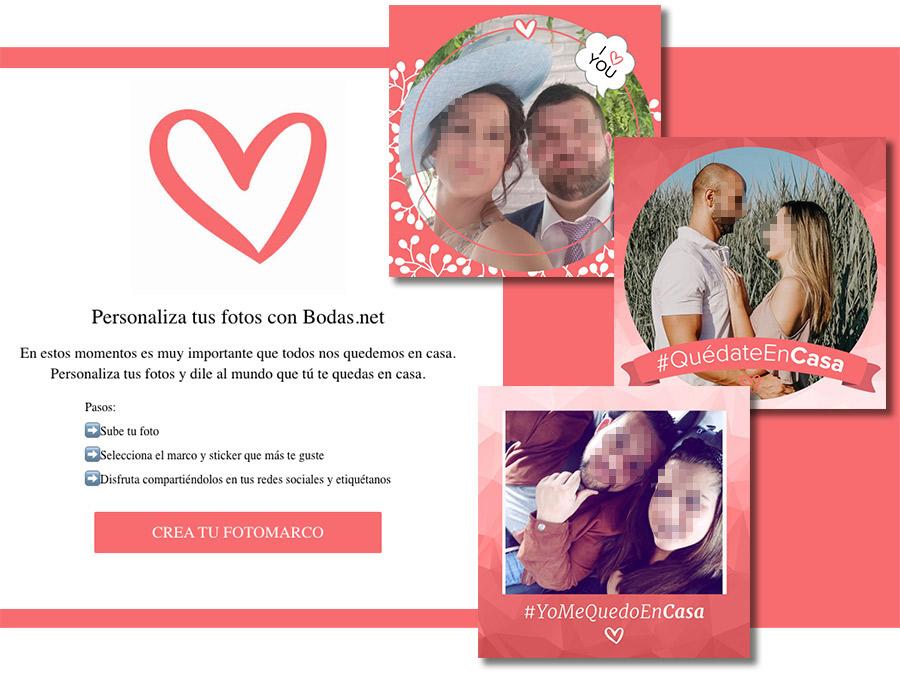ejemplo de concurso de fotos personalizado con mensajes