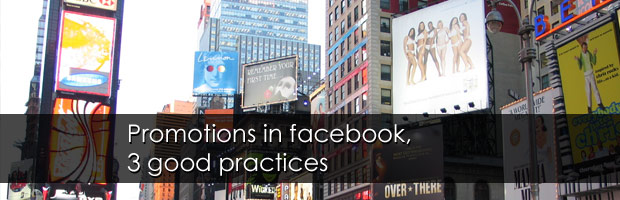 3 Good practices for creating an effective promotion in Facebook