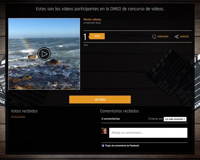 plugin comentar video en concursos