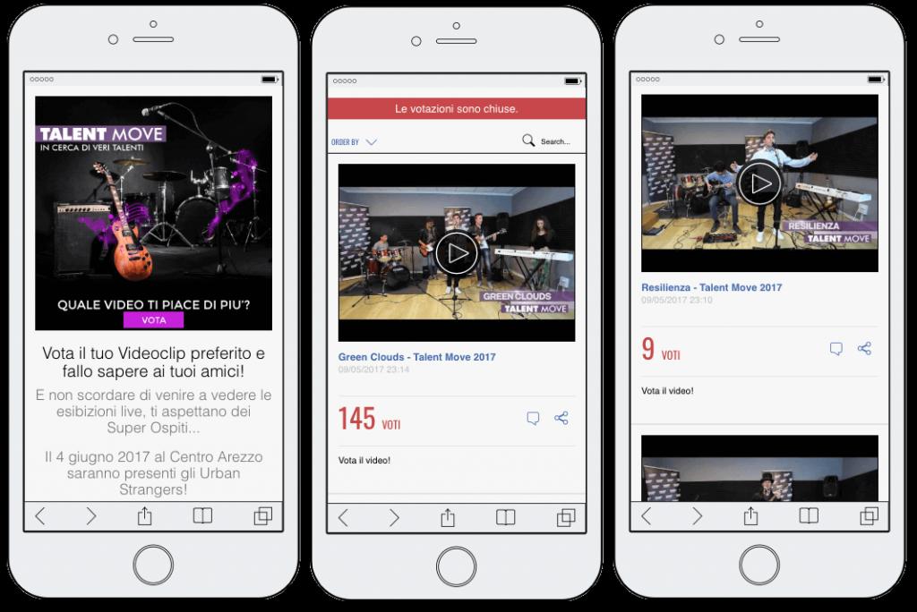 app concurso musical