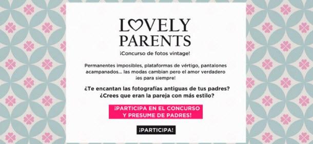concurso facebook lovely parents oysho