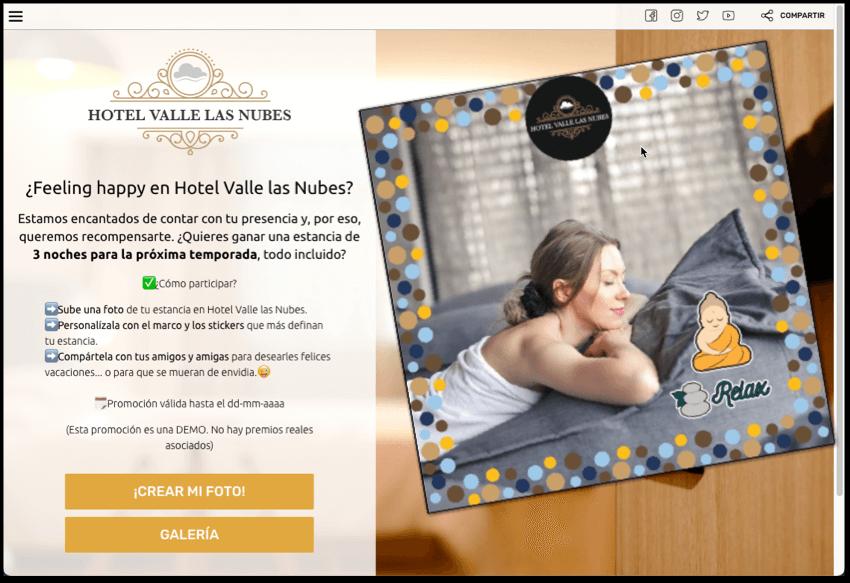 concurso fotos branding hotel