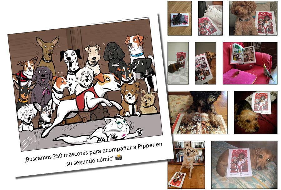 concurso de mascotas online de Pipper on tour