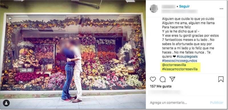 concurso hashtag mencion san valentin centro comercial
