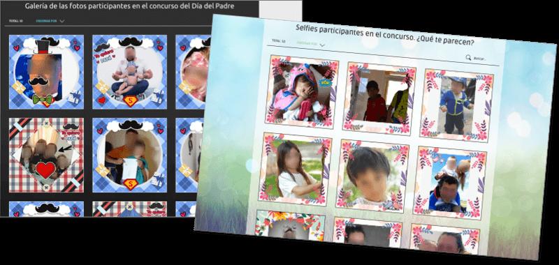 ejemplos concurso photofun dia padre y primavera