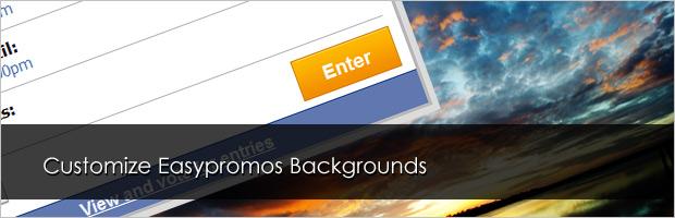 Easypromos: Personaliza las imágenes de fondo de las promociones