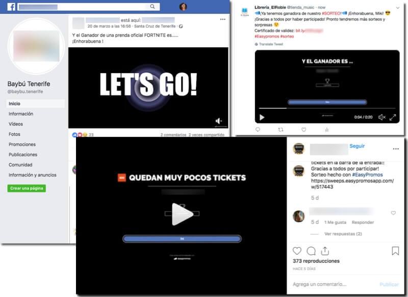 difundir_video_ganadores_facebook_instagram_twitter