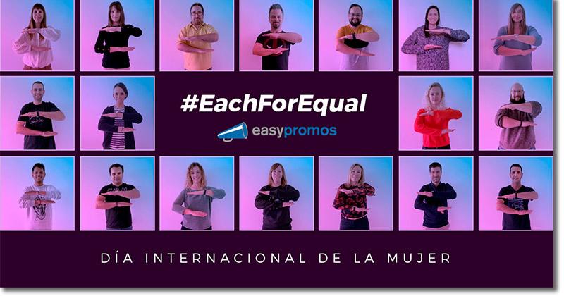 ejemplo de campaña del Día Internacional de la Mujer