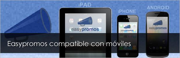 Easypromos en dispositivos móviles