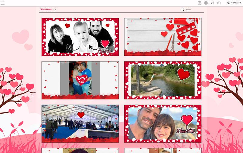 ejemplo de concuso de fotos de san valentin (photofun)
