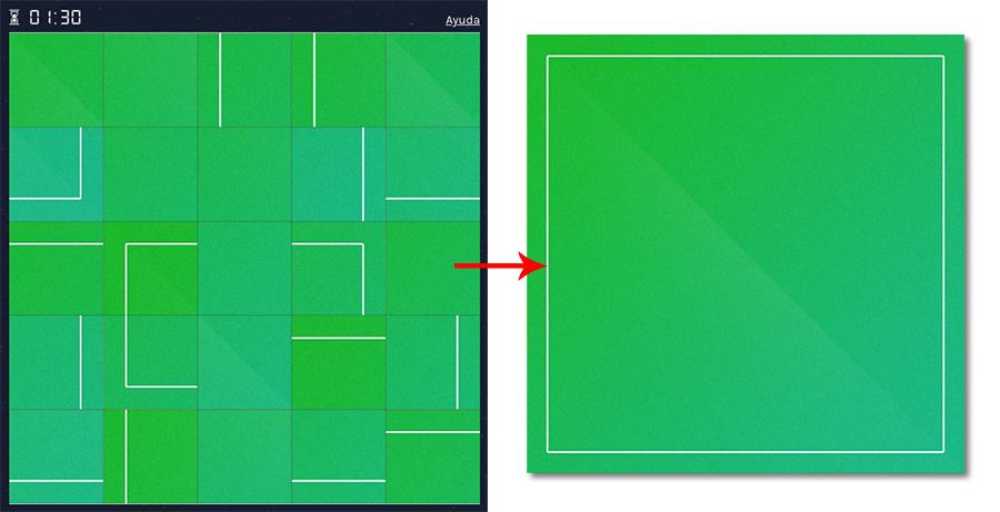 crear un puzzle online con un reto abstracto