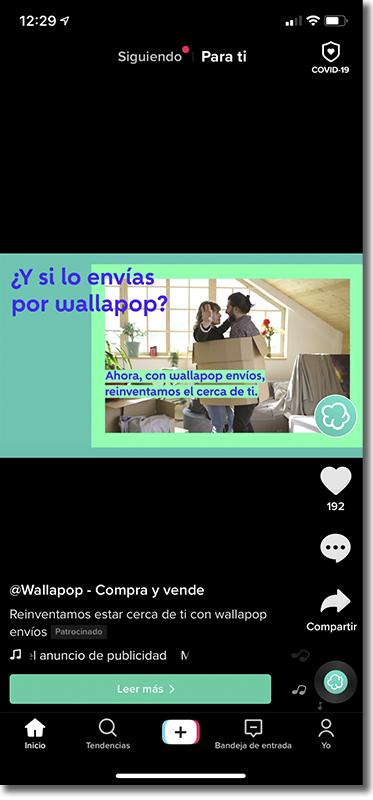 ejemplo TikTok ads