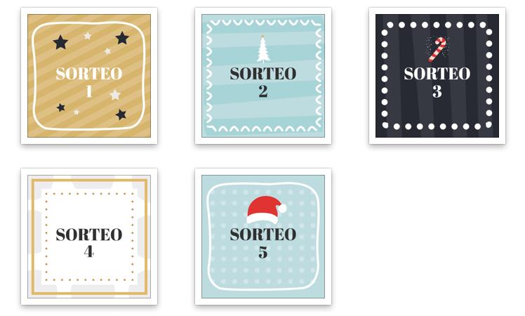 Imagenes para sorteos en Instagram Calendario Adviento