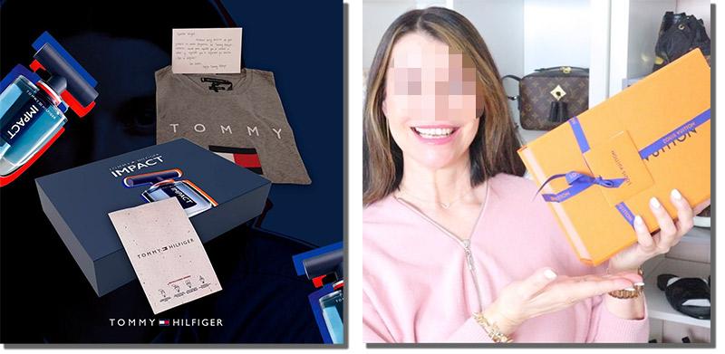ejemplos de packaging de premios