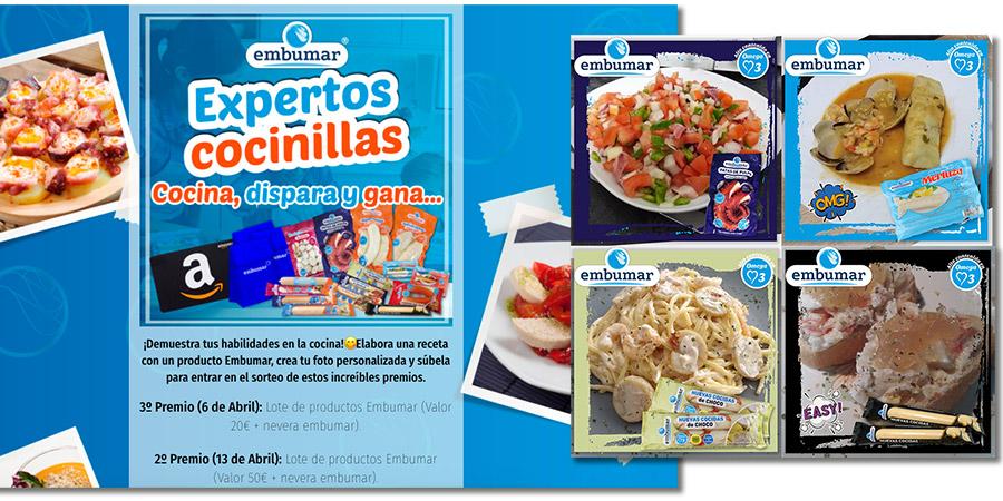 ejemplo de concurso de recetas con imágenes personalizadas
