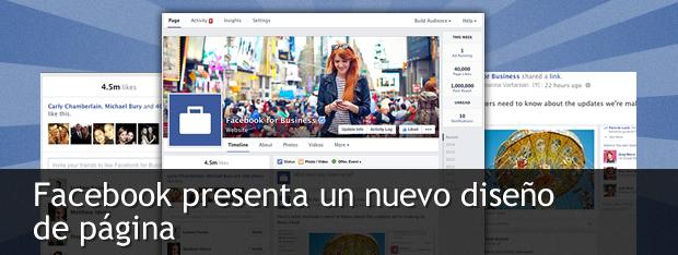 nuevo diseño apps Facebook