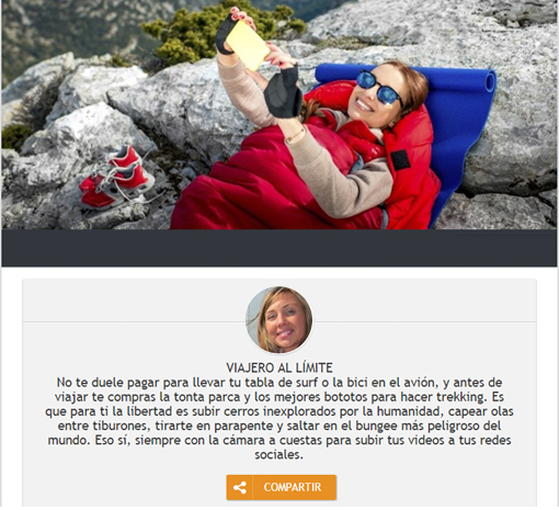página final promoción