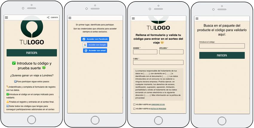 proceso app validar codigos