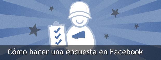 Hacer encuesta en Facebook