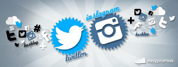 concurso twitter facebook instagram