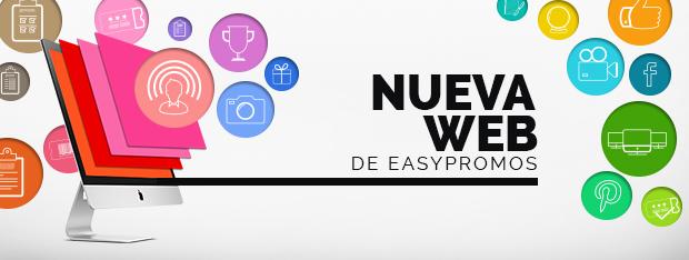 Nueva web de Easypromos