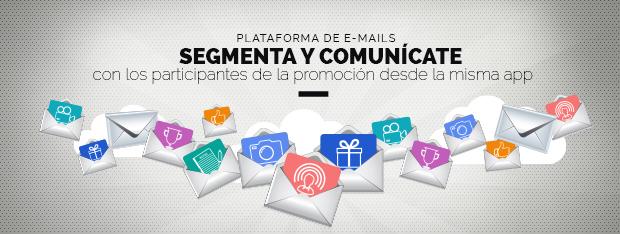 segmentar emails usuarios promoción