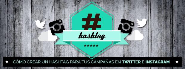 Crear un hashtag