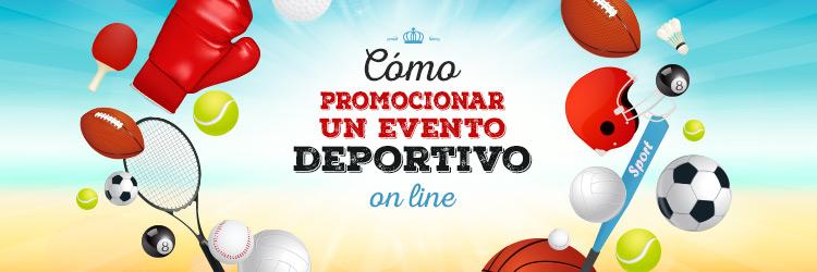 promocionar evento deportivo