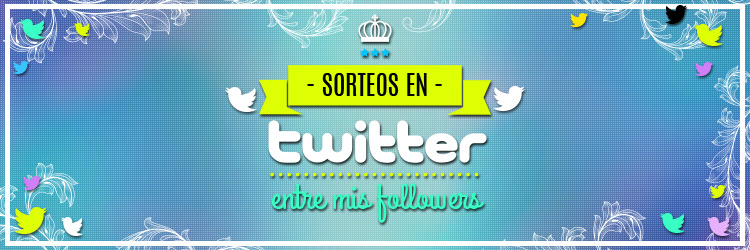 Sorteo en Twitter entre mis followers