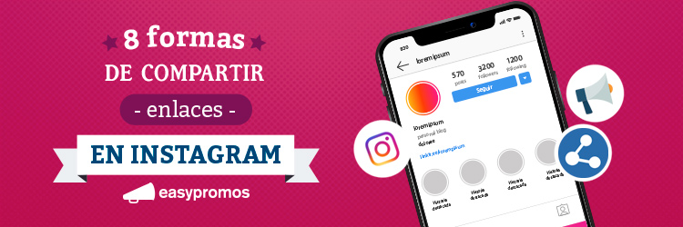 formas de compartir enlaces en Instagram