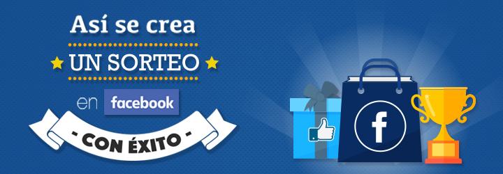Crear sorteo Facebook exito