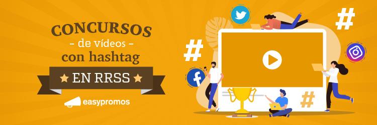concurso videos hashtag redes sociales