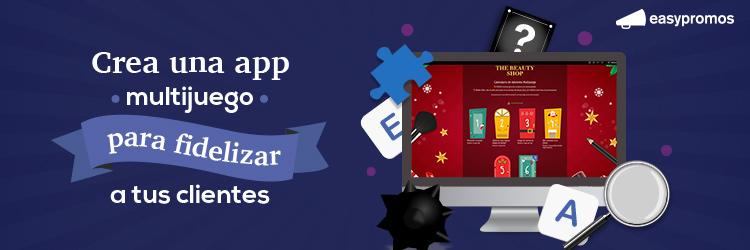 app multijuego fidelizar clientes
