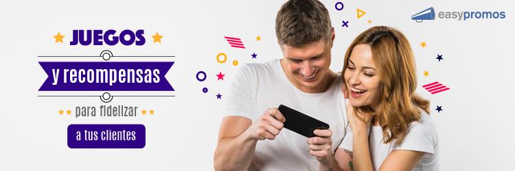 Juegos recompensas fidelizar clientes